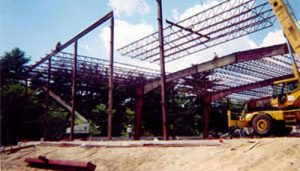 steel sports facility building